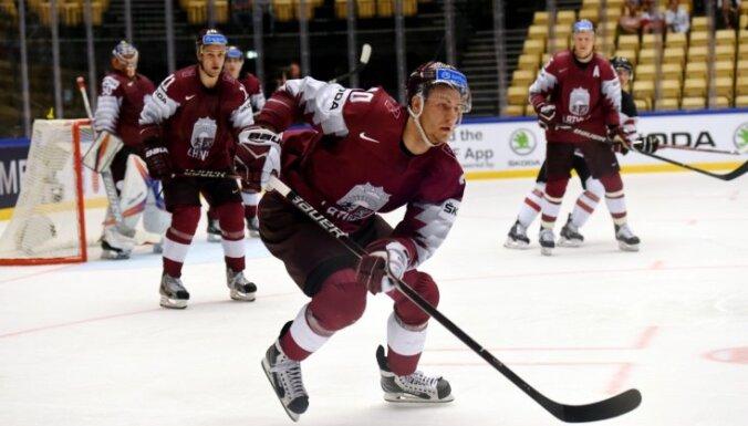 Cīņa par ceturtdaļfinālu: Latvijas hokeja izlase PČ grupu turnīra pēdējā spēlē tiekas ar Dāniju
