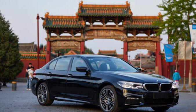 BMW plāno pārņemt Ķīnas kopuzņēmuma kontroli