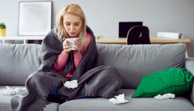Эпидемиолог: по сравнению с другими странами Европы в Латвии интенсивность гриппа средняя