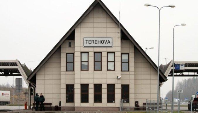 Очереди грузовиков на границе Латвии с Россией и Беларусью исчезли