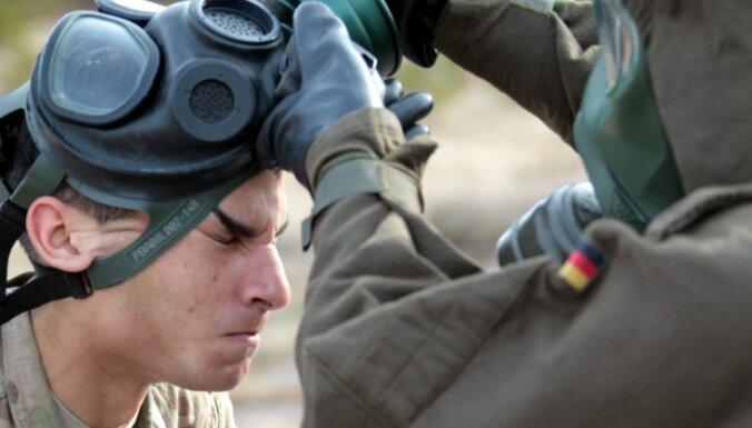 После Пасхи Латвия соберет на учения 1200 военных из стран НАТО