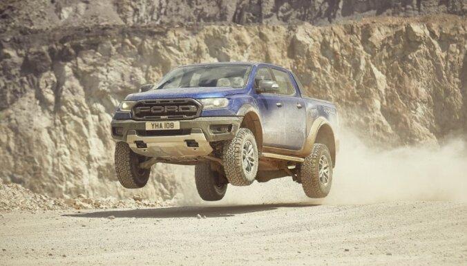 'Ford' arī Eiropas tirgū ievieš ekstrēmo pikapu 'Ranger Raptor'