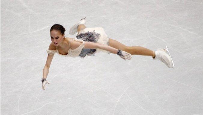 Krievijas daiļslidotāji dominē pasaules čempionāta pirmajā dienā