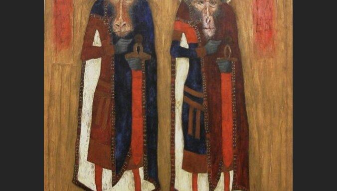 Latvijas mākslinieka glezna izstādīta prestižajā 'The Saatchi' galerijā