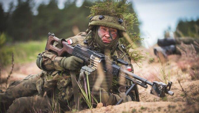 В учениях Saber Strike примут участие более 2000 военных из восьми стран