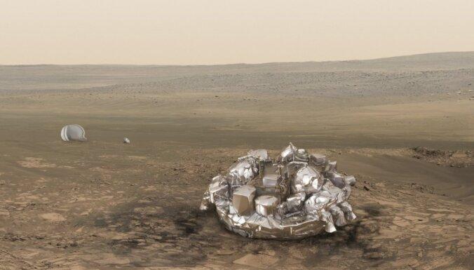 """Названа причина крушения модуля """"Скиапарелли"""" на Марсе"""