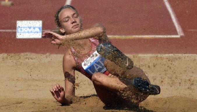 Sopova Eiropas U-20 čempionātā vieglatlētikā izcīna bronzas medaļu trīssoļlēkšanā
