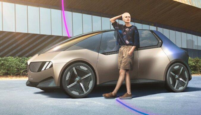 BMW prezentējis automobili viscaur no pārstrādātiem materiāliem