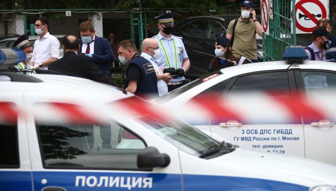 У стрелка, ранившего двух полицейских в Москве, нашли экстремистскую литературу