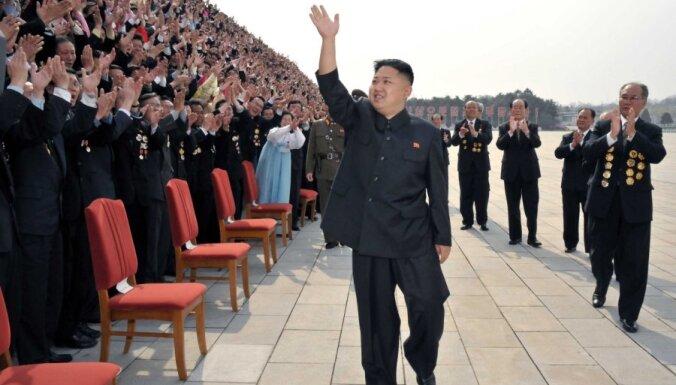 Ziemeļkorejā pieaudzis greznumpriekšmetu un vīna imports
