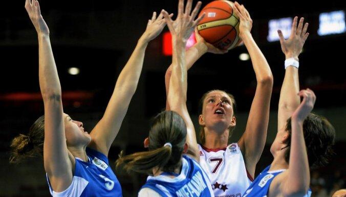 Latvijas basketbolistes nespēj savā laukumā uzvarēt Izraēlu