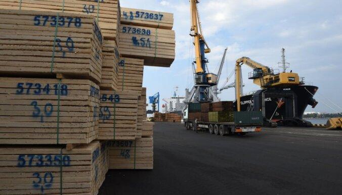 Eksperts: kokmateriālu pārvadāšanas jomā 'Brexit' Latvijas uzņēmējiem var radīt pat jaunas iespējas