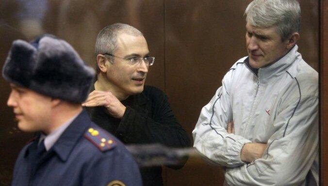 Верховный суд: Ходорковскому и Лебедеву дали слишком большой срок