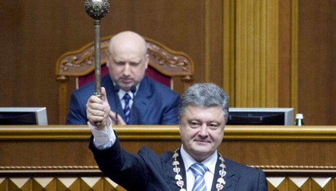 Участники Вече призвали Порошенко распустить Раду и объявить перевыборы