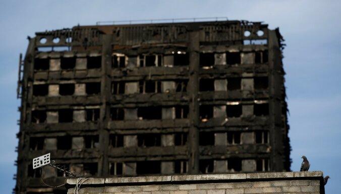 Эксперты: лондонская башня сгорела из-за облицовки