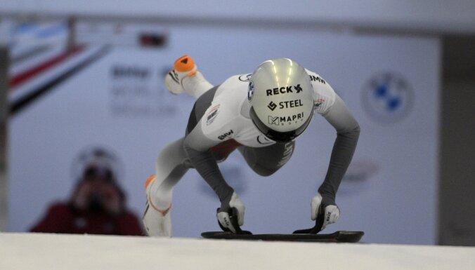 Skeletoniste Tērauda izcīna 11. vietu Pasaules kausa otrajā posmā Siguldā