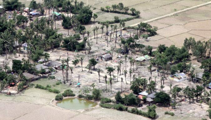 Mjanmā turpina noliegt pret rohindžiem vērstu genocīdu