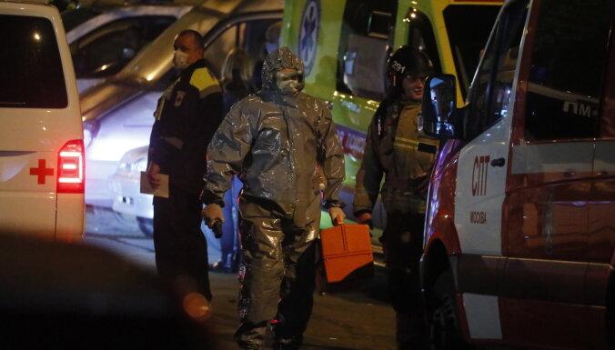 При пожаре в московской больнице, где лечат пациентов с Covid-19, погиб пациент