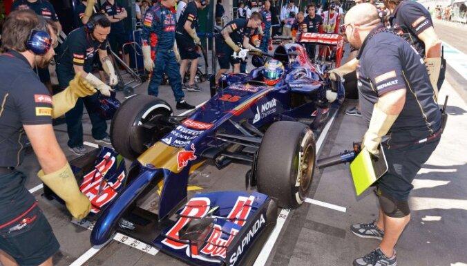 Francūzis Verņs paziņo par 'Toro Rosso' komandas atstāšanu