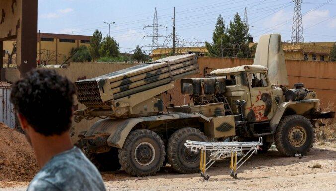 Haftara spēku sarīkotā uzbrukumā Tripolē bojā gājuši vairāki civiliedzīvotāji