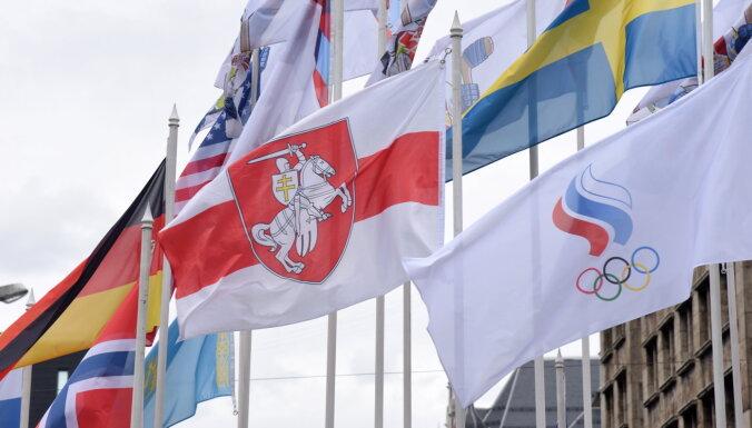 В Федерации хоккея Беларуси отреагировали на замену флага на чемпионате мира в Риге