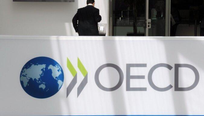OECD: mazas algas 'zvaigžņoto' tehnoloģiju uzņēmumu dēļ