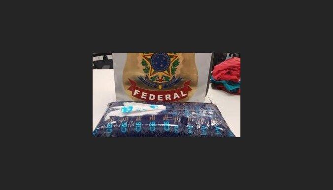 Бразилия: в аэропорту задержан курьер из Латвии с 3 кг кокаина