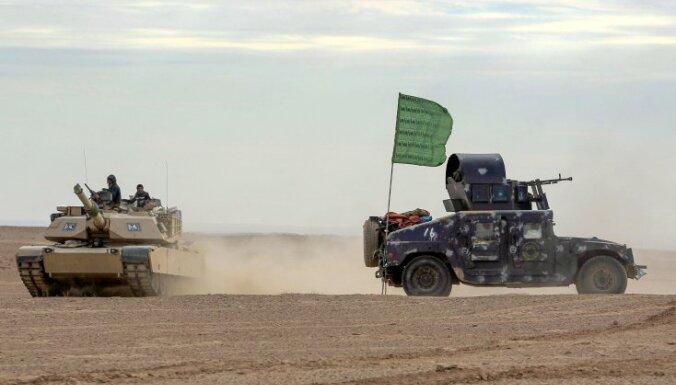 ASV spiež Irāku mazināt irāņu militāro ietekmi tās iekšienē