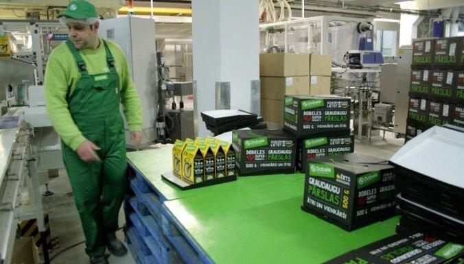 Названы крупнейшие латвийские производители продуктов питания и напитков