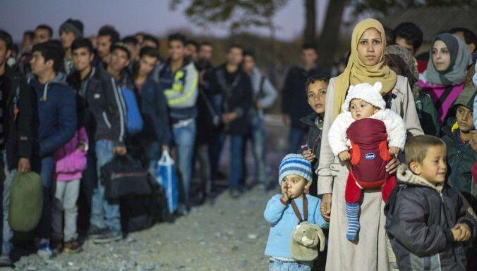 Латвия начала процесс приема беженцев