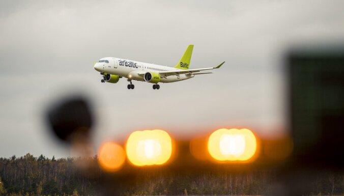 'airBaltic' uzsāk lidojumus uz Mančestru