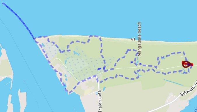 Aktivitāte brīvdienām: 13 kilometrus garš pārgājiens pa Mangaļsalu