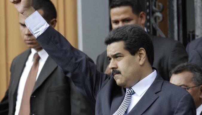 Venecuēlas viceprezidents Čavesa slimībā vaino 'vēsturiskos ienaidniekus'