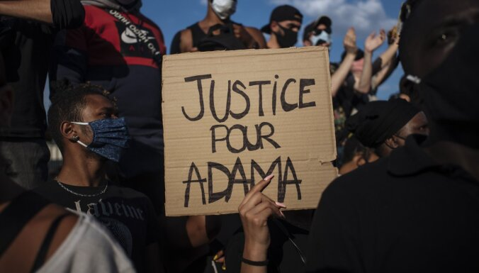 Протесты против полицейского насилия перекинулись на Европу
