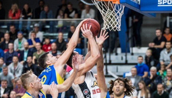 Ventspils basketbolisti Tallinā LIBL cīņā pārspēj Igaunijas vicečempioni