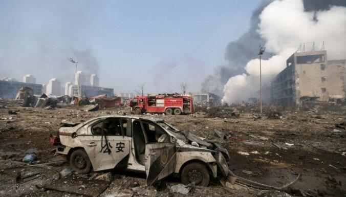 В Китае на месте взрывов вспыхнули новые пожары