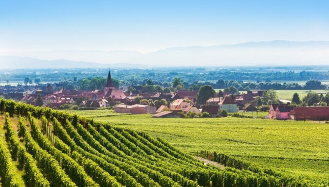 Gleznainā Kolmāra: viena no krāsainākajām un skaistākajām vietām Francijā