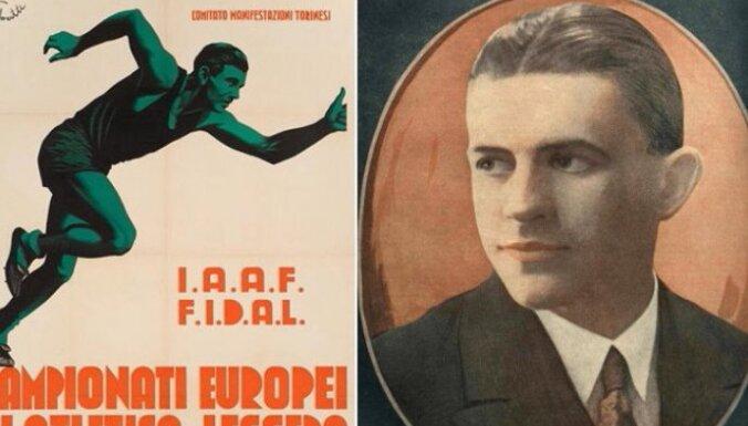 Latvijas sporta vēsture: Pirmais Eiropas čempions soļošanā – latvietis