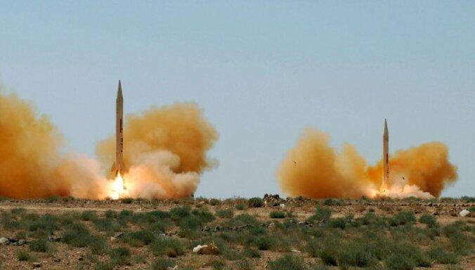 ASV un Lielbritānija: Ir pierādījumi par ķīmisko ieroču pielietošanu Sīrijā