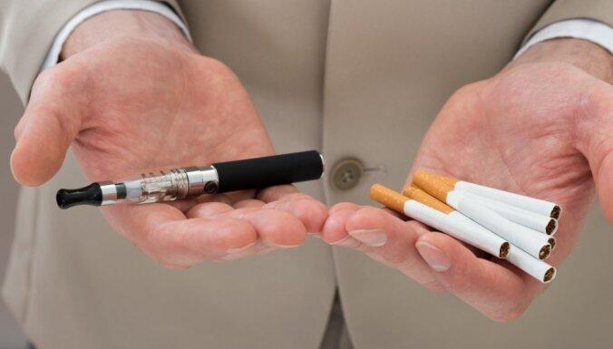 Ar e-cigaretēm saistīto nāves gadījumu skaits ASV sasniedz 18