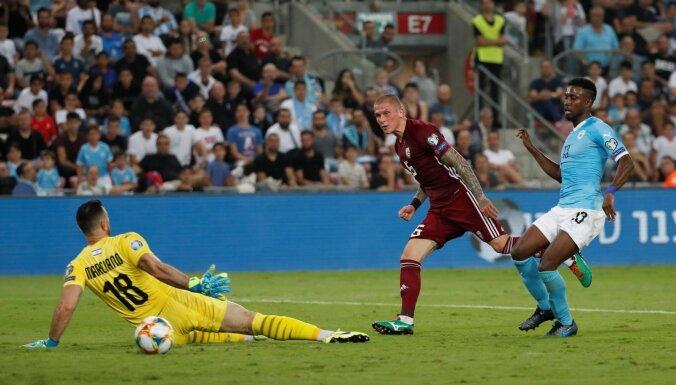 Video: Latvijas futbola izlase beidzot gūst vārtus