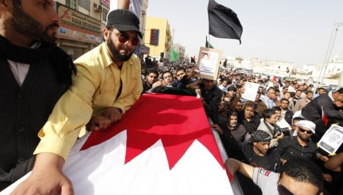 Kadafi dēls brīdina protestētājus par iespējamu pilsoņkaru