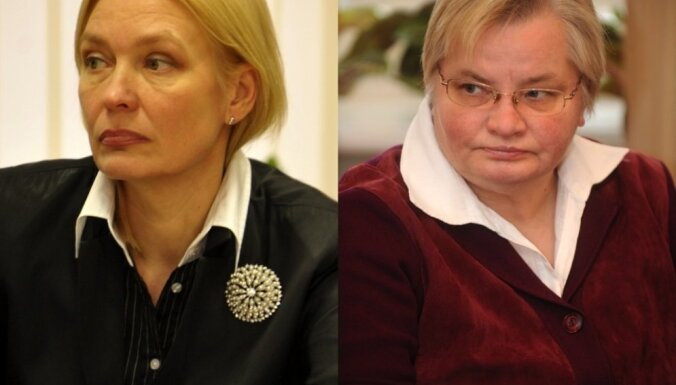 """Ингуна Рибена и Янина Курсите неожиданно покинули """"Единство"""""""