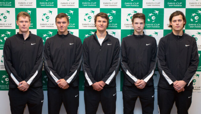 Latvian team, tennis