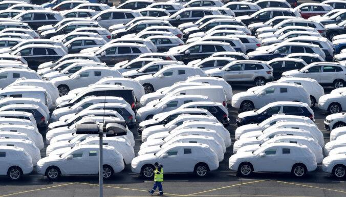 Jaunu auto tirdzniecība Vācijā pieaugusi par 12,7%