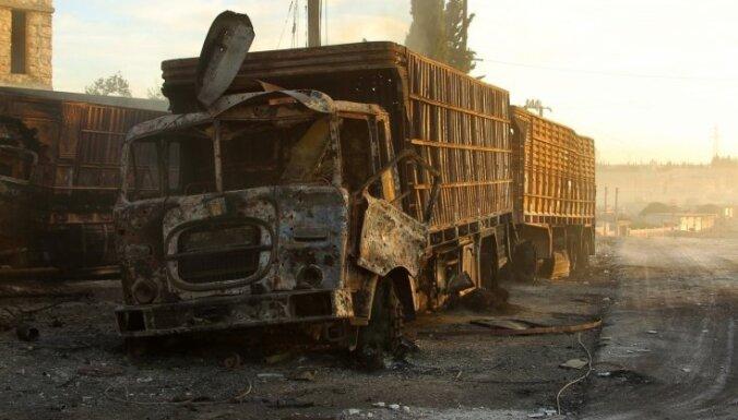 Расследовать нападение на конвой под Алеппо будет особая комиссия ООН