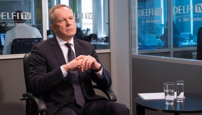 KNAB призывает начать уголовное преследование экс-главы Банка Латвии Римшевича за принуждение к лжесвидетельству