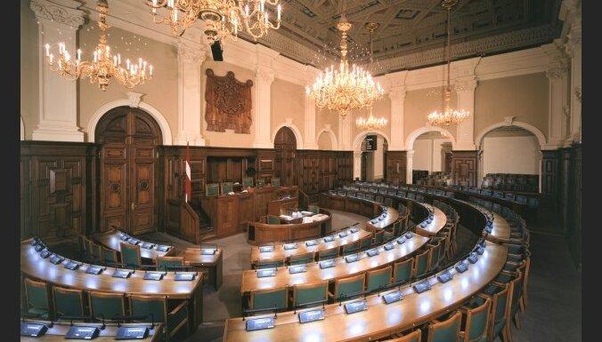 10.Saeimas vēlēšanās partijām vajadzēs 115 deputātu kandidātus