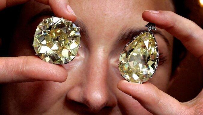 Dimantus zog vismaz reizi pāris gados: astoņi piemēri