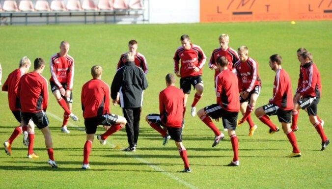 Латвия поднялась на семь мест в рейтинге ФИФА